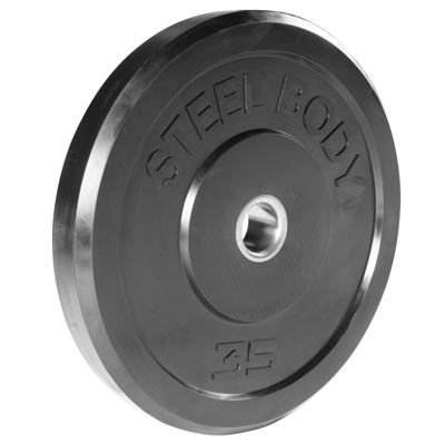 SteelBody Rubber Bumper Olympic Weight Plate - 15.9kg / 35lb