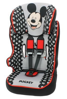 Nania Racer SP Disney Mickey Mouse Group 1-2-3 High Back Booster