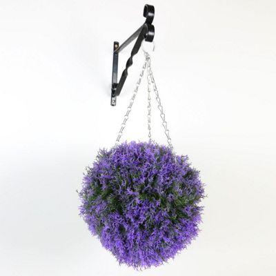 Heathr TopiaryBall Prple 30c
