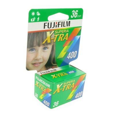 Fujicolor Film - Superia X-tra 400 36 Exposures 135 Hang Tab