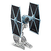 Hot Wheels Star Wars Die Cast Blue TIE Fighter Vehicle