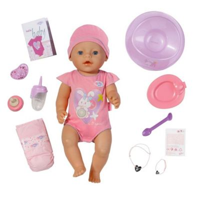 baby born doll interactive