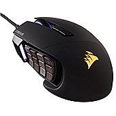Corsair Gaming SCIMITAR RGB Optical MOBA/MMO 12000dpi Gaming Mouse - Black