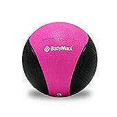 Bodymax Medicine Ball - Black/Pink 3kg