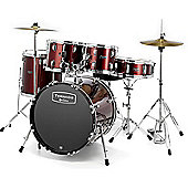 Mapex Tornado III 22 Inch Rock Fusion Drum Kit - Red