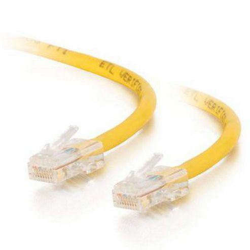 Cables to Go 1 mCat5e Assembled UTP Patch Cable Yellow