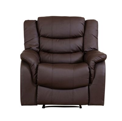 Sofa Collection Victoria Recliner Armchair - 1 Seat - Brown