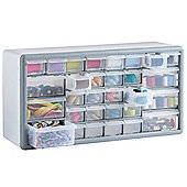 VonHaus 30 Drawer Storage Organiser - White