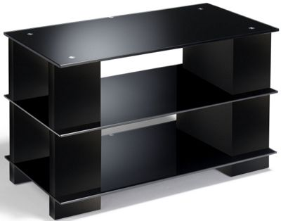 Elite Media Gloss Black TV Stand For up to 32 inch