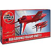 Airfix A05124 Red Arrows Gnat 1:48 Aircraft Model Kit