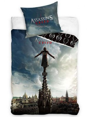 Assassin's Creed Movie Single Cotton Duvet Cover Set