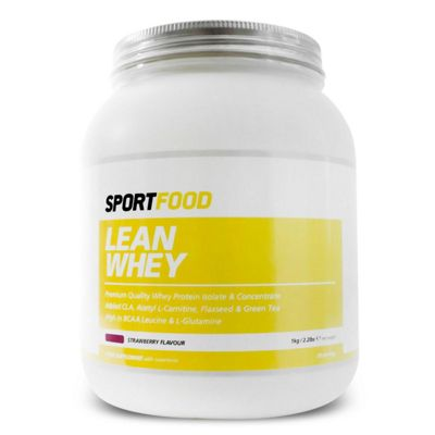 Sportfood Lean Whey 1kg - Strawberry