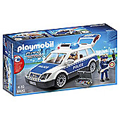 PLAYMOBIL POLICE CAR WITH LIGHTS AND SOU