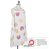 Bebe Au Lait Nursing/Breastfeeding Cover - Muslin Palma