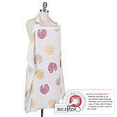 Bebe Au Lait Nursing/Breastfeeding Cover - Muslin Palma