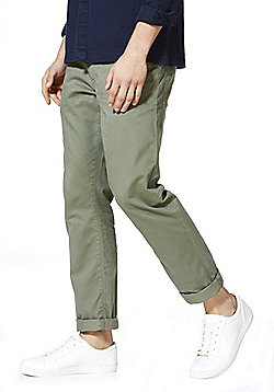 F&F 5 Pocket Straight Leg Chinos - Khaki