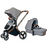 Mee-Go Venice Child Kangaroo Pram/Pushchair - Granite Grey