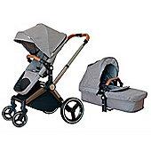 Mee-Go Venice Child Kangaroo Pram/Pushchair - Granite Grey
