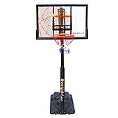 BEE BALL Ultimate ZY-020 NBA Full Height Outdoor Basketball Net for Adults and Children with Quick Stand Adjustment Lever: 2.3 to 3.05m