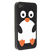 Trendz iPhone 4 and iPhone 4S Penguin Character Case (Black)