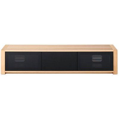 Techlink Modular M2LO Screens up to 84 inch - Oak/Black