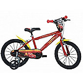 Disney Pixar Cars 16inch Balance Bike Red - DINO Bikes