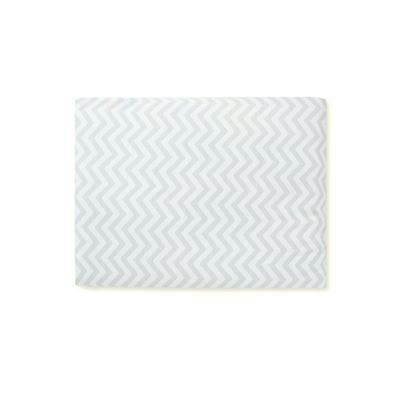 B Jersey Fitted Cot Bed Sheet  Chevron Size Cot Bed