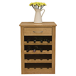 Image baumhaus mobel Drawer Lamp Tesco Baumhaus Mobel Oak Wine Rack Lamp Table