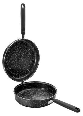 Ibili Stone Quartz Induction Omelette Pan Tortilla Lidded Pan 20cm