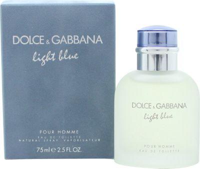Dolce & Gabbana Light Blue Eau de Toilette (EDT) 75ml Spray For Men