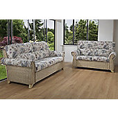 Desser Clifton 3 Seater and 2 Seater Conservatory Sofa Set