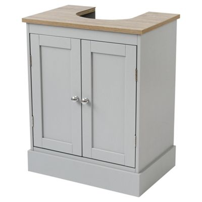 Good Lloyd Pascal Radstock Undersink Storage Cabinet, Grey/Oak