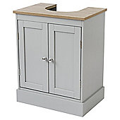 Radstock Undersink Storage Cabinet, Grey/Oak