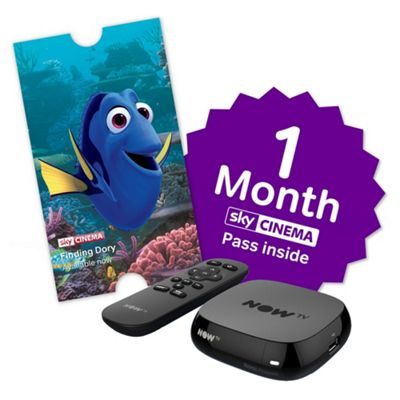 Now TV HD Digital Media Streamer Sky Cinema 1 Month Pass