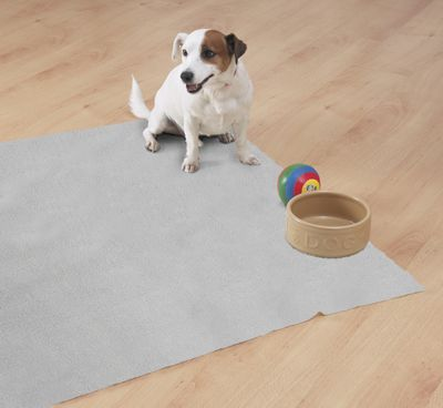 Country Club Fleecy Pet Bed Mat 100x100cm Jumbo Grey