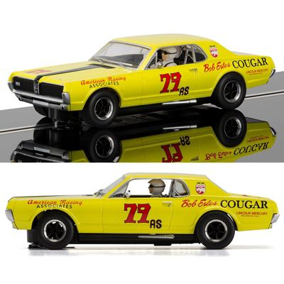 SCALEXTRIC Slot Car C3729 Mercury Cougar XR7 1967 Trans Am