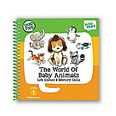 LeapFrog LeapStart The World of Baby Animals Activity Book