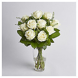 Finest White Avalanche Rose Bouquet