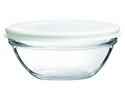 Luminarc Empilable Stacking Bowl with Lid, 23cm