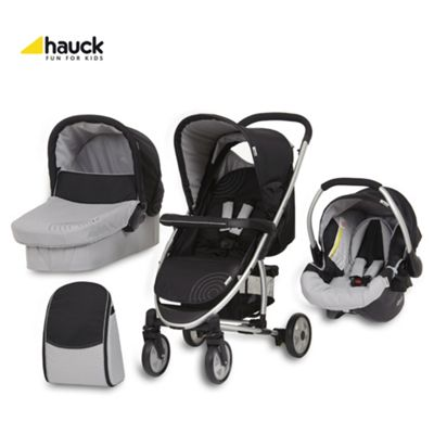 Buy Hauck Malibu All In One Pushchair Caviar Silver From