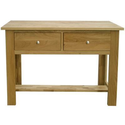 Home Zone Furniture Lincoln Oak 2009 Large Console Table