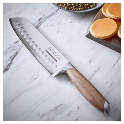 Go Cook Damascus Santoku Knife