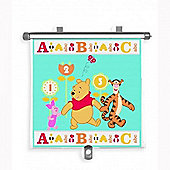 The First Years Winnie the Pooh Adjust n Lock Sunshade