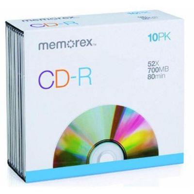 Memorex CD-R Slim 10 Pack