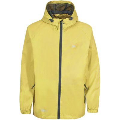 Trespass Mens Qikpac Jacket Yellow XL