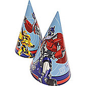 Transformers Party Cone Hats