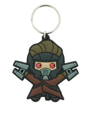 Marvel Comics Kawaii Star Lord Keyring
