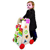 EverEarth Wooden Toy Activity Walker
