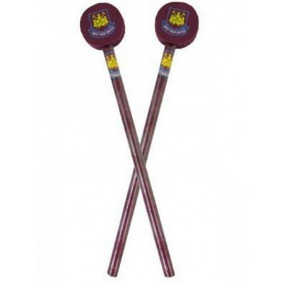 West Ham United 2 Pack Pencils With Toppers