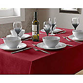 Select Round Tablecloth 90cm - Red